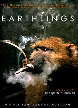 Earthlings_Plakat_Affe